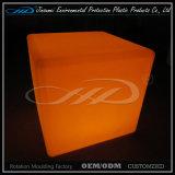 Luz impermeable moderna plástica de la silla del cubo del PE LED