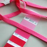 Kundenspezifische Großhandelsfarben-flache Polyester-Spitze für Schuh