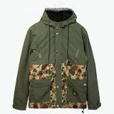 2017年の正直者の品質のオリーブ色のジャケット作業布作業摩耗の服装の衣服の服