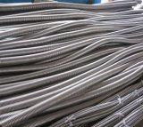 Boyau de câble ondulé d'acier inoxydable