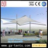 Tente extérieure de stationnement de structure métallique pour l'horizontal et l'ombrage