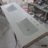 주문을 받아서 만들어진 단단한 Surface&Quartz 돌 목욕탕 허영 상단