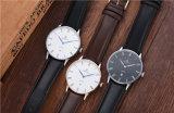 주문을 받아서 만들어진 로고 싼 가격 시계 일본 Miyota Movt 스테인리스 또는 진짜 가죽 또는 나일론 남자의 시계 72012