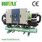 Refroidisseur d'eau refroidi à l'eau industriel de refroidissement de vente chaud de vis
