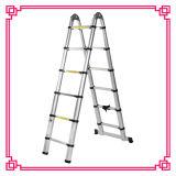 Escada telescópica dupla de múltiplos propósitos
