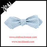 Mens Bowtie de seda tecido forma da forma do diamante