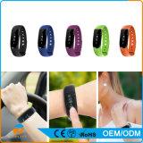 Браслет с Sdk, Wristband пригодного для носки приспособления франтовской Bluetooth шагомер