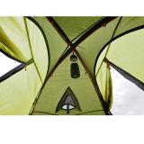 Tente extérieure de hausse protégeant du vent imperméable à l'eau campante de Double couche de 2 personnes