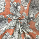 92% Nylon 8% Spandex Fashion Printed Fabric for Bra