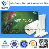 Pellicola di laminazione termica di tocco morbido per stampa calda