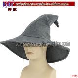 Fonte do partido do carnaval de Headwear Halloween do chapéu de palha (H2017)