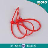 Serres-câble de nylon de noir de la qualité PA66