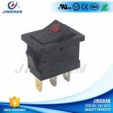 Jiinghan 12V LED éclairé DOT Micro Rocker Switch T85