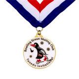 Médaille dure faite sur commande de bowling en métal d'émail