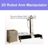 Het het verticale en Horizontale die Centrum van de Eenheid van de Controle van de Manipulator van de Afmeting en Wapen van de Robot voor het Thermische het Bespuiten Schilderen van de Verglazing van Whelding van het Plateren van de Deklaag wordt geplaatst
