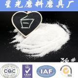 Blanco abrasivo de alúmina corindón polvo para la venta