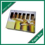 Caixa ondulada do vinho do bloco de seis frascos (FP8039138)