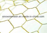 PVC 고품질을%s 가진 입히는 6각형 철망사