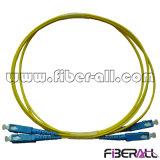 Duplex de fibra óptica da manutenção programada do cabo de correção de programa de SC/PC-SC/PC