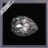 보석을%s 절단과 크기 Moissanite 최고 백색 주문을 받아서 만들어진 돌
