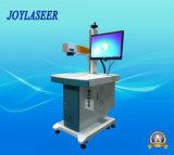 Máquina caliente de la marca del laser de la fibra de la venta para los productos del plástico/de metal