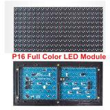 Módulo a todo color RGB 7 de la INMERSIÓN Semi-Al aire libre 20*10pixels LED del color 320*160m m de P16 para la tablilla de anuncios a todo color de P16 LED