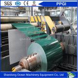 El color de China prepintó la bobina de acero/hoja de acero galvanizada cubierta color de PPGI del soldado enrollado en el ejército/de PPGL/en bobina