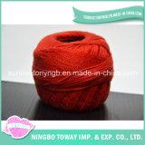 多彩で柔らかく薄いアクリルのウールのナイロン豪華なヤーンを編む卸し売り手