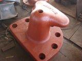 Poste de amarração marinho do rim da doca da amarração do ferro de molde 150ton do OEM 1500kn