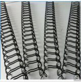 Alambre obligatorio de púas galvanizado trenzado doble caliente de libro