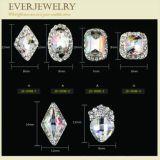 고품질 각종 색깔을%s 가진 다른 모양 광택 있는 못 수정같은 돌