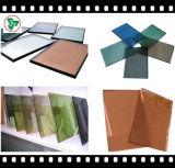 Color reflectante vidrio / vidrio recubierto (4-12mm)