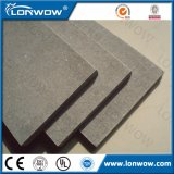 A prueba de fuego y prueba de humedad de fibrocemento tabla de pared decorativo, hoja plana