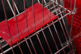 플라스틱 쇼핑 트롤리, 미국식 쇼핑 카트, 회전 상점 손수레, 소매점 트롤리, 슈퍼마켓 Equipmen