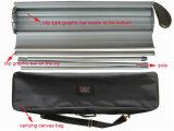 広告する容易な変更の図形巻き上げの立場のアルミニウム旗の立場(SR-09)を
