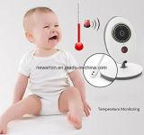 2.4 монитор младенца няни индикации температуры Nightvision беседы видеокамеры 2way цифров няни экрана Vb605 LCD дюйма беспроволочный младенческий