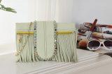 Bolsas do ombro do couro do projeto dos Tassels do fabricante de China
