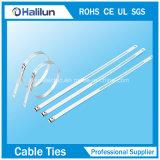 Strichleiter-Jobstepp-Kabelbinder des Edelstahl-304 einzelner in der Manufaktur