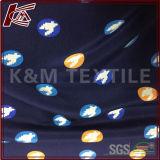 Ткань сатинировки Crepe 100% Silk тяжелая напечатанная Silk с утверждением SGS