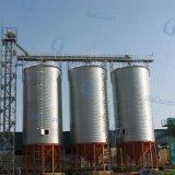 Silos acanalados galvanizados del acero del almacenaje del grano