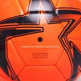 Bola de fútbol de la fibra del logotipo de encargo