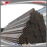 Prezzo nero a basso tenore di carbonio del tubo d'acciaio di alta qualità del fornitore ERW della Cina