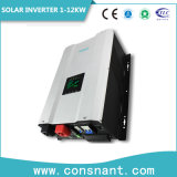 Hybride intrinsèque de MPPT 24VDC 120VAC outre de l'inverseur solaire 6kw de réseau