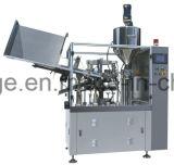 Заполнение пробки автоматического металла алюминиевые и машина печати уплотнения