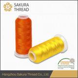 Sakura-Polyester-Gewinde mit hoher Anti-Brechender Stärke für das Hochgeschwindigkeitsmaschinen-Nähen