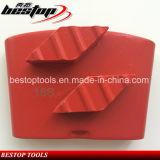 Пол диаманта Китая высокого качества меля конкретная плита