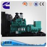 комплект тепловозного генератора силы 500kw /625kVA Китая молчком звукоизоляционный