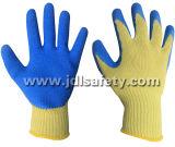 Guanto di protezione contro il calore del lavoro con il rivestimento del lattice (LK3022)