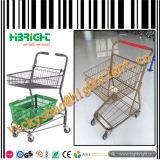 Carrello all'ingrosso di acquisto di Gimi del supermercato del supermercato per gli anziani