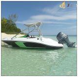 Barco externo 460b del deporte de los pescados del esquí del motor de Jiujiangflitboating